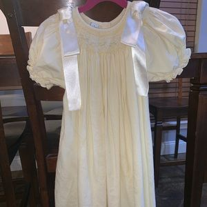 Other - Silly goose girl yellow smock dress size 5